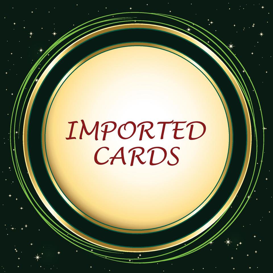 IMPORTED CARDS