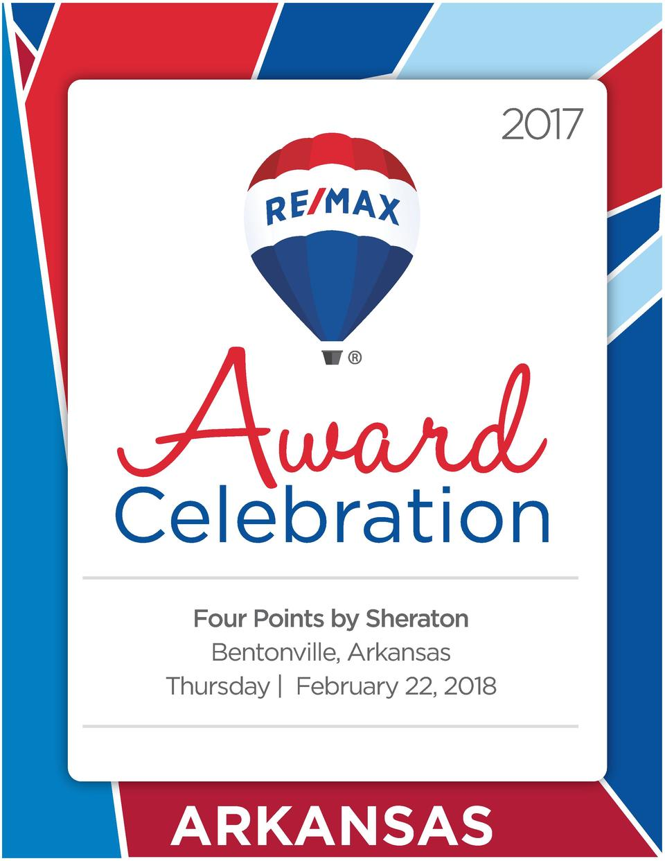 Four Points by Sheraton Bentonville, Arkansas Thursday   February 22, 2018  ARKANSAS