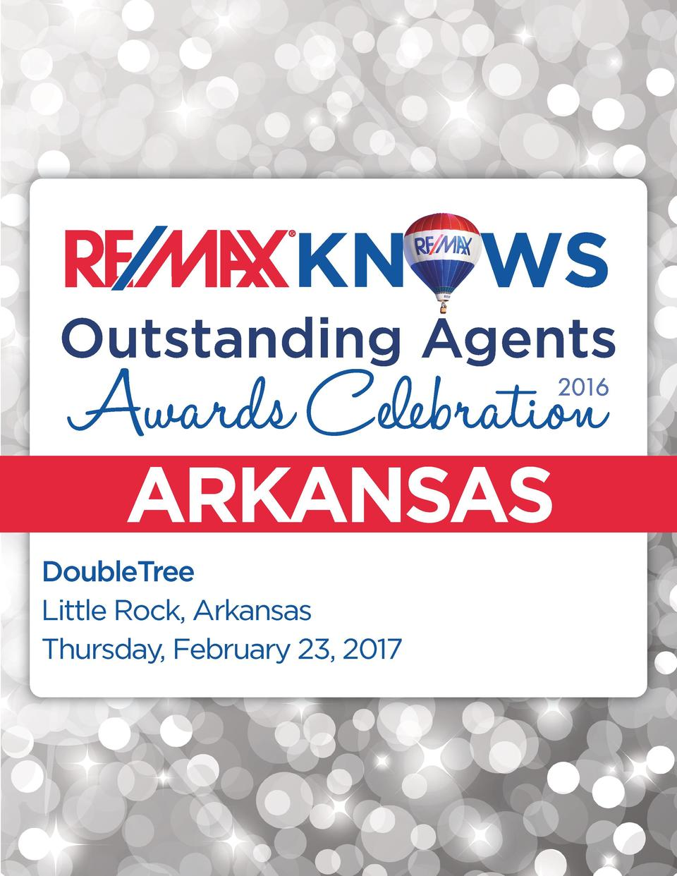 ARKANSAS DoubleTree Little Rock, Arkansas Thursday, February 23, 2017