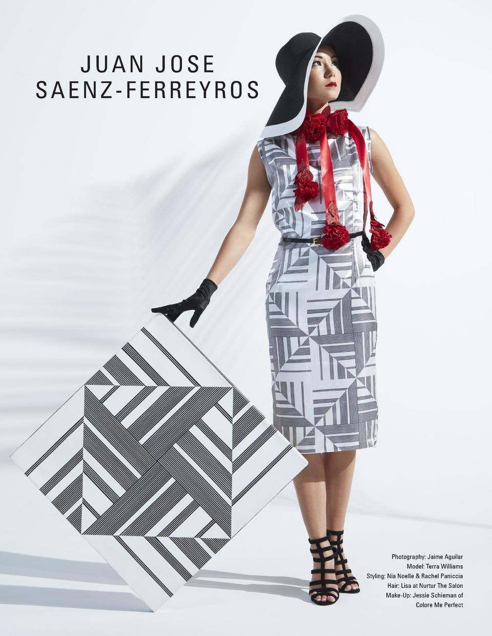 JUAN JOSE SAENZ-FERREYROS  Photography  Jaime Aguilar Model  Terra Williams Styling  Nia Noelle   Rachel Paniccia Hair  Li...
