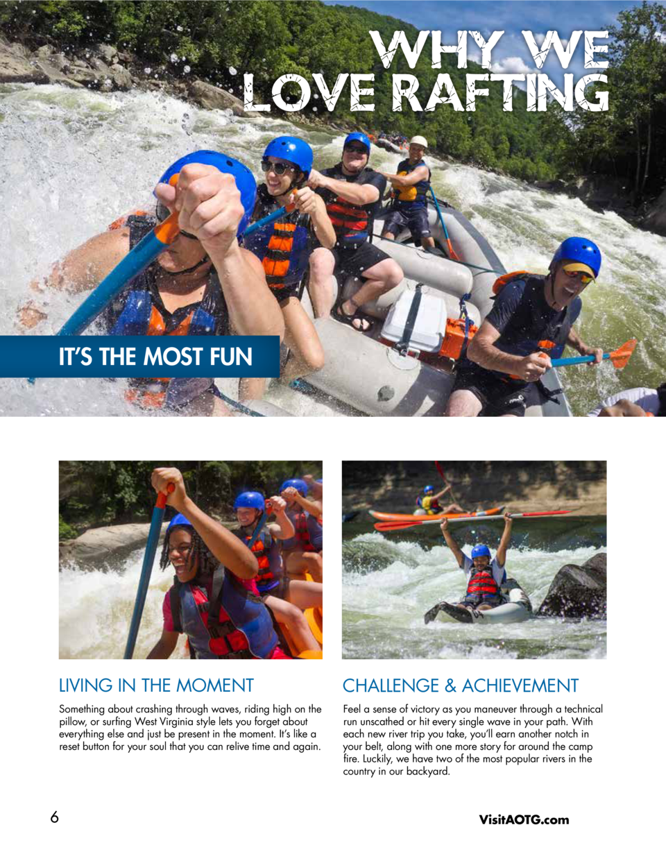 WHY WE LOVE RAFTING  IT   S THE MOST FUN  LIVING IN THE MOMENT  CHALLENGE   ACHIEVEMENT  Something about crashing through ...