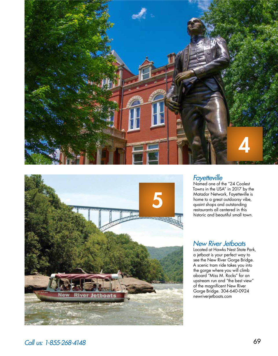 4 Fayetteville  5  Named one of the    24 Coolest Towns in the USA    in 2017 by the Matador Network, Fayetteville is home...
