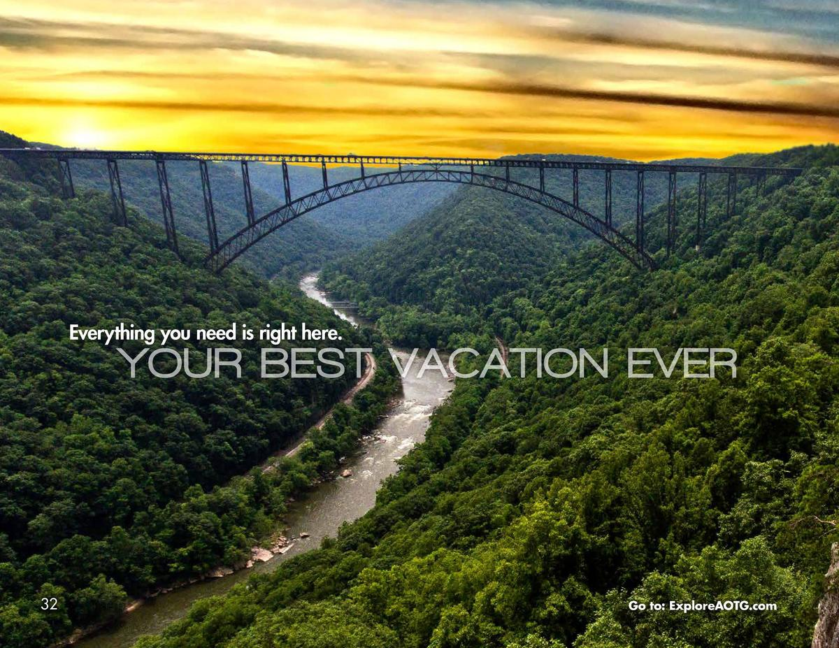Everything you need is right here.  YOUR BEST VACATION EVER  32  Go to  ExploreAOTG.com