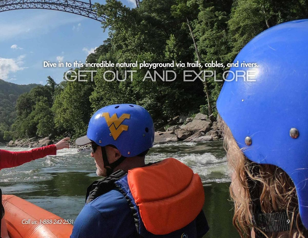 Dive in to this incredible natural playground via trails, cables, and rivers.  GET OUT AND EXPLORE  Call us  1-888-242-253...