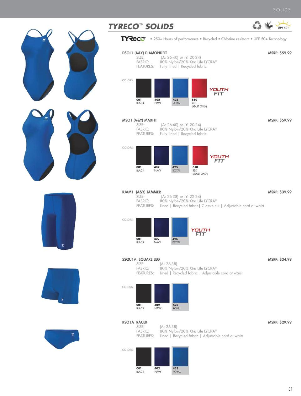 PERFORMANCE SWIM  SOLIDS  DURAFAST ONE     SOLIDS COLOR  O N E  BLACK  TYRECO     SOLIDS      300  Hours of performance   ...
