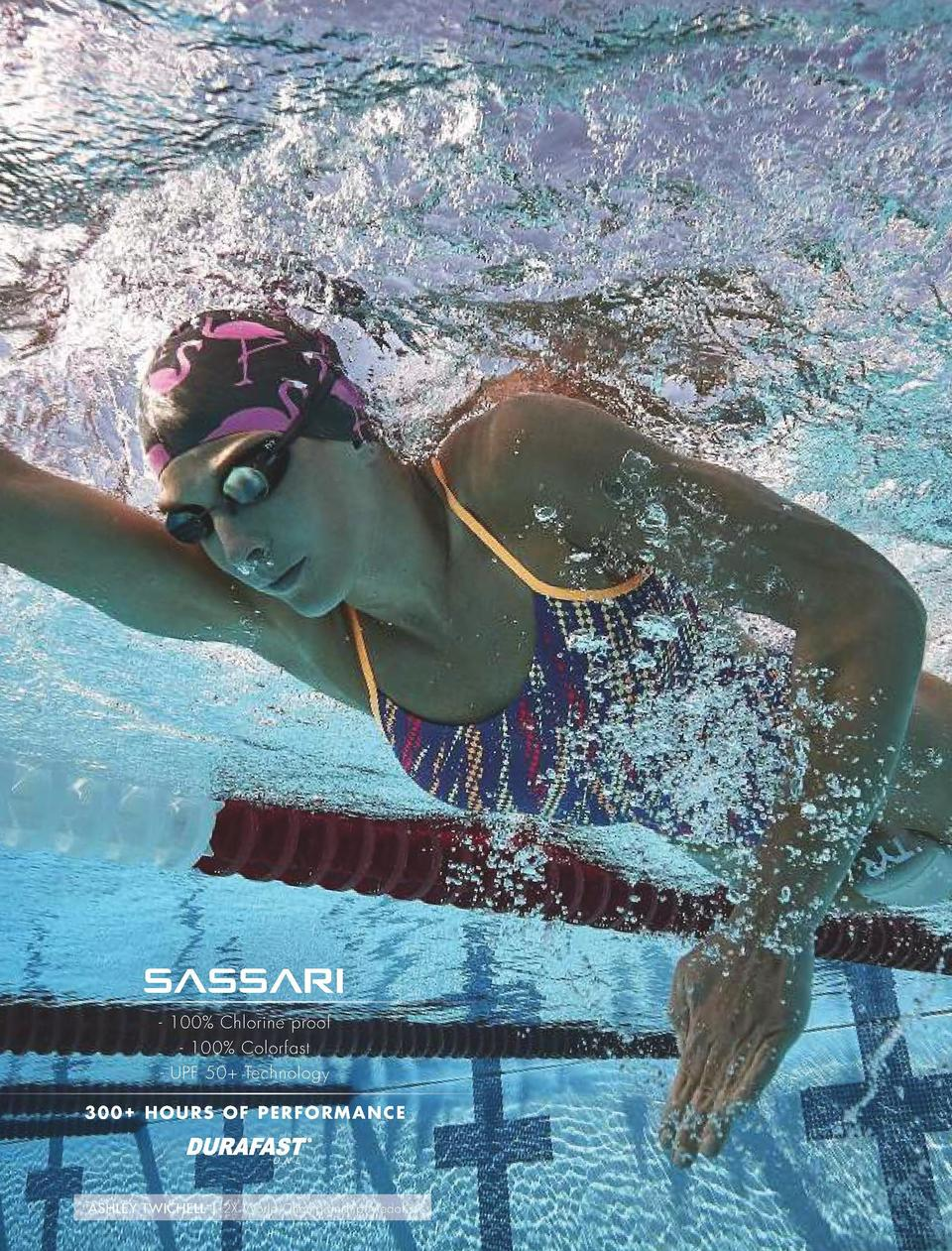 TRAINING  NEW  SASSARI  COLOR  O N E      300  Hours of performance     100  Chlorine proof     100  Colorfast     UPF 50 ...