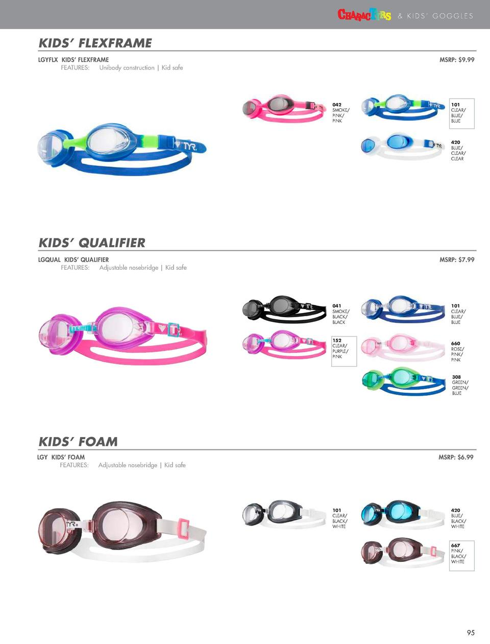 KIDS    GOGGLES  KIDS       KIDS    GOGGLES  DINO DIVA  LGQGDNO KIDS    CHARACTYRS DINO DIVA    FEATURES    Adjustable nos...