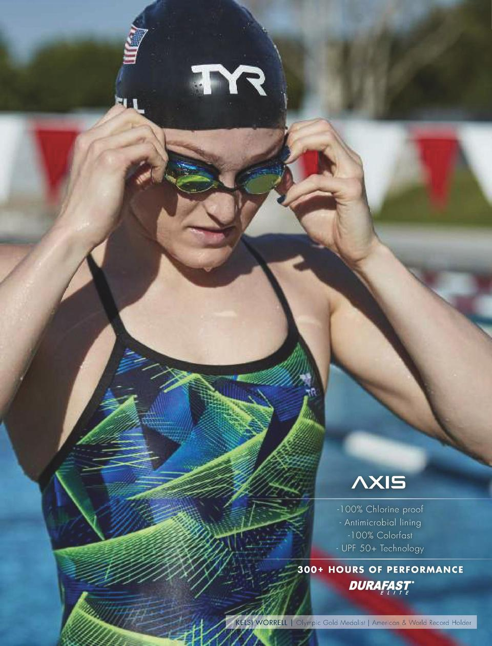 PERFORMANCE SWIM  PRINTS  NEW  ZYEX     300  Hours of performance     100  Chlorine proof     Antimicrobial lining     100...
