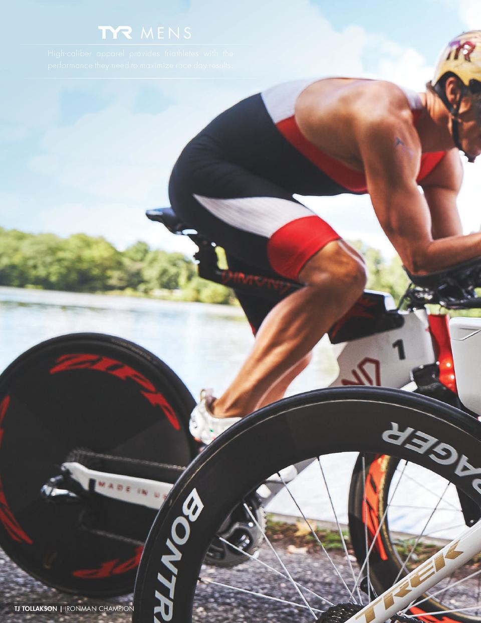 TECHNICAL SWIM  MENS High-caliber apparel provides triathletes with the performance they need to maximize race day results...