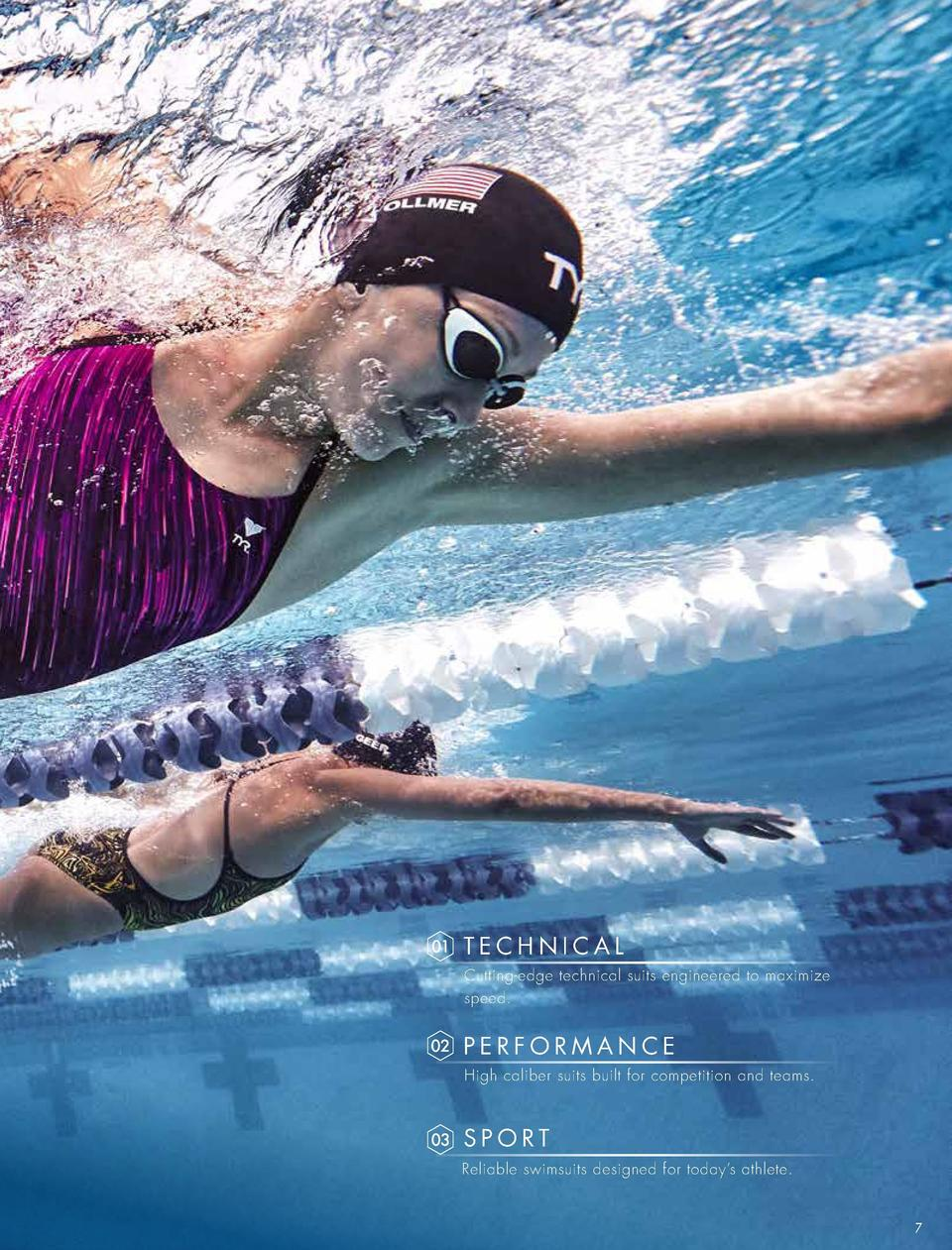 OUTLINED  TECHNICAL  SWIM Regardless of activity, TYR is the brand people seek when they want to move. From the training b...