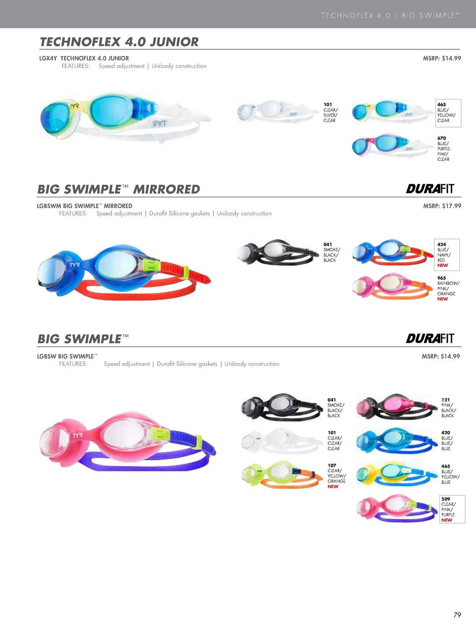 ACTIVE GOGGLES  TECHNOFLEX 4.0   BIG SWIMPLE     TECHNOFLEX 4.0 MIRRORED  TECHNOFLEX 4.0 JUNIOR  LGX4M TECHNOFLEX 4.0 MIRR...