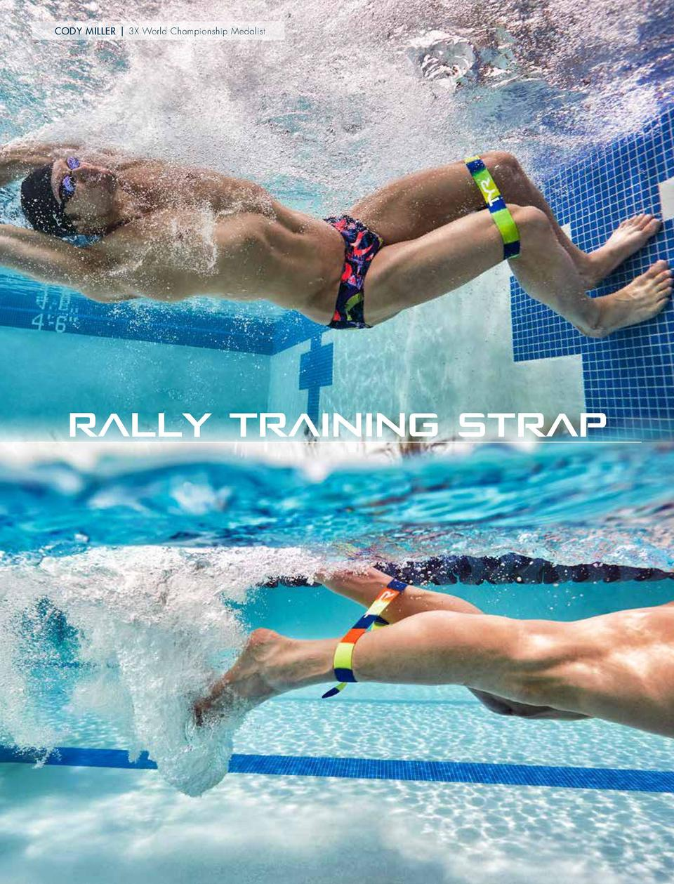 EQUIPMENT CODY MILLER   3X World Championship Medalist  TRAINING STRAP NEW STYLE  RALLY TRAINING STRAP LTAS RALLY TRAINING...