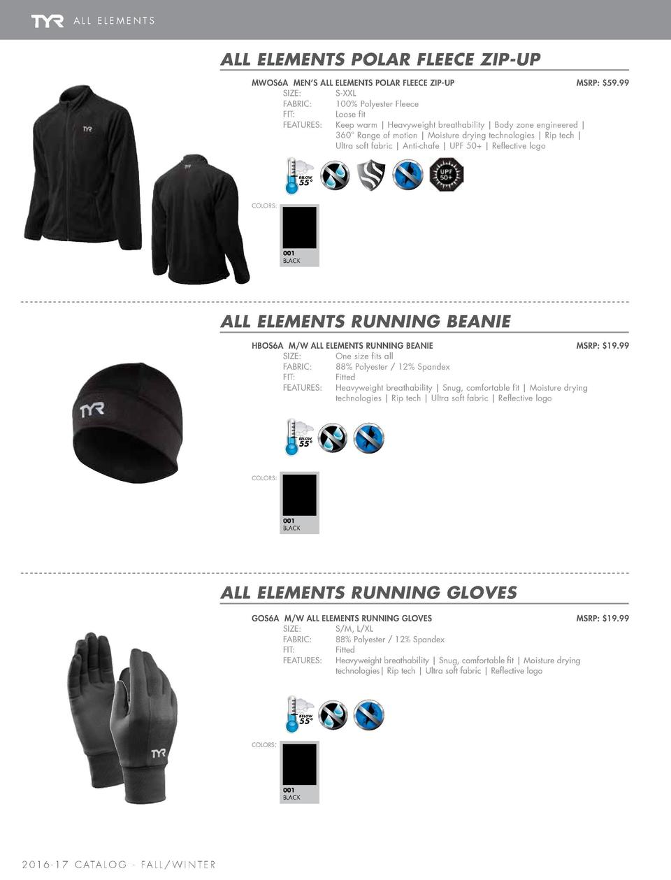 ALL ELEMENTS  MEN   S ALL ELEMENTS   ALL ELEMENTS ACCESSORIES  ALL ELEMENTS POLAR FLEECE ZIP-UP MWOS6A MEN   S ALL SIZE   ...