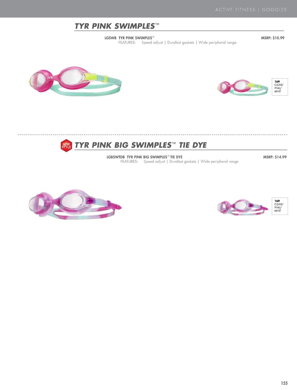 PINK  ACTIVE FITNESS   GOGGLES  TYR PINK SWIMPLES      SPECIAL OPS 2.0 FEMME POLARIZED LGSPSB TYR PINK SPECIAL OPS 2.0 FEM...