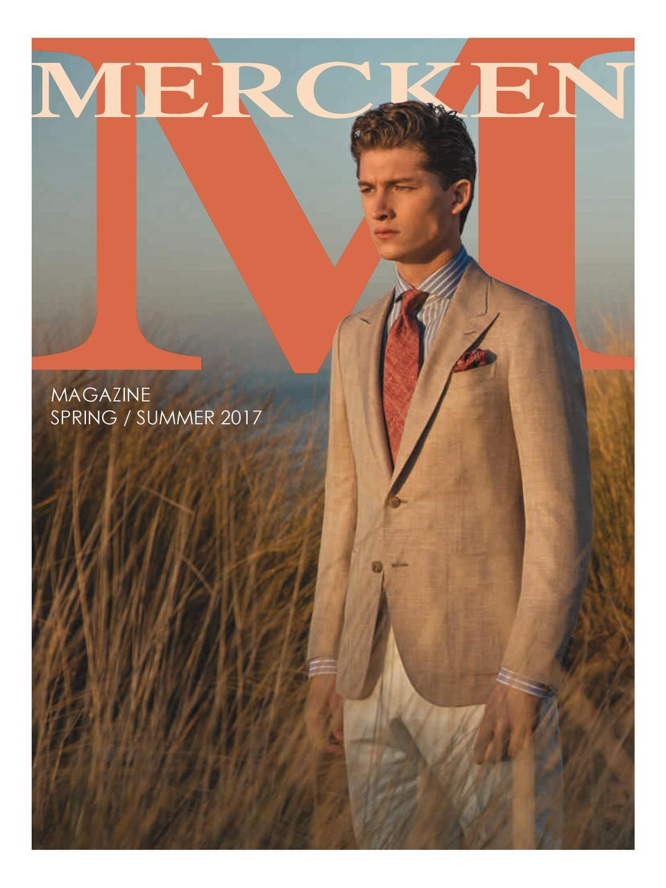 MERCKEN  MAGAZINE SPRING   SUMMER 2017