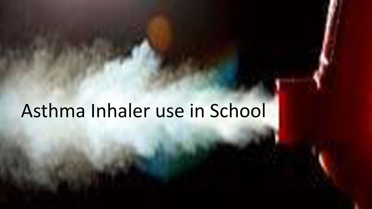 Asthma Inhaler use in School