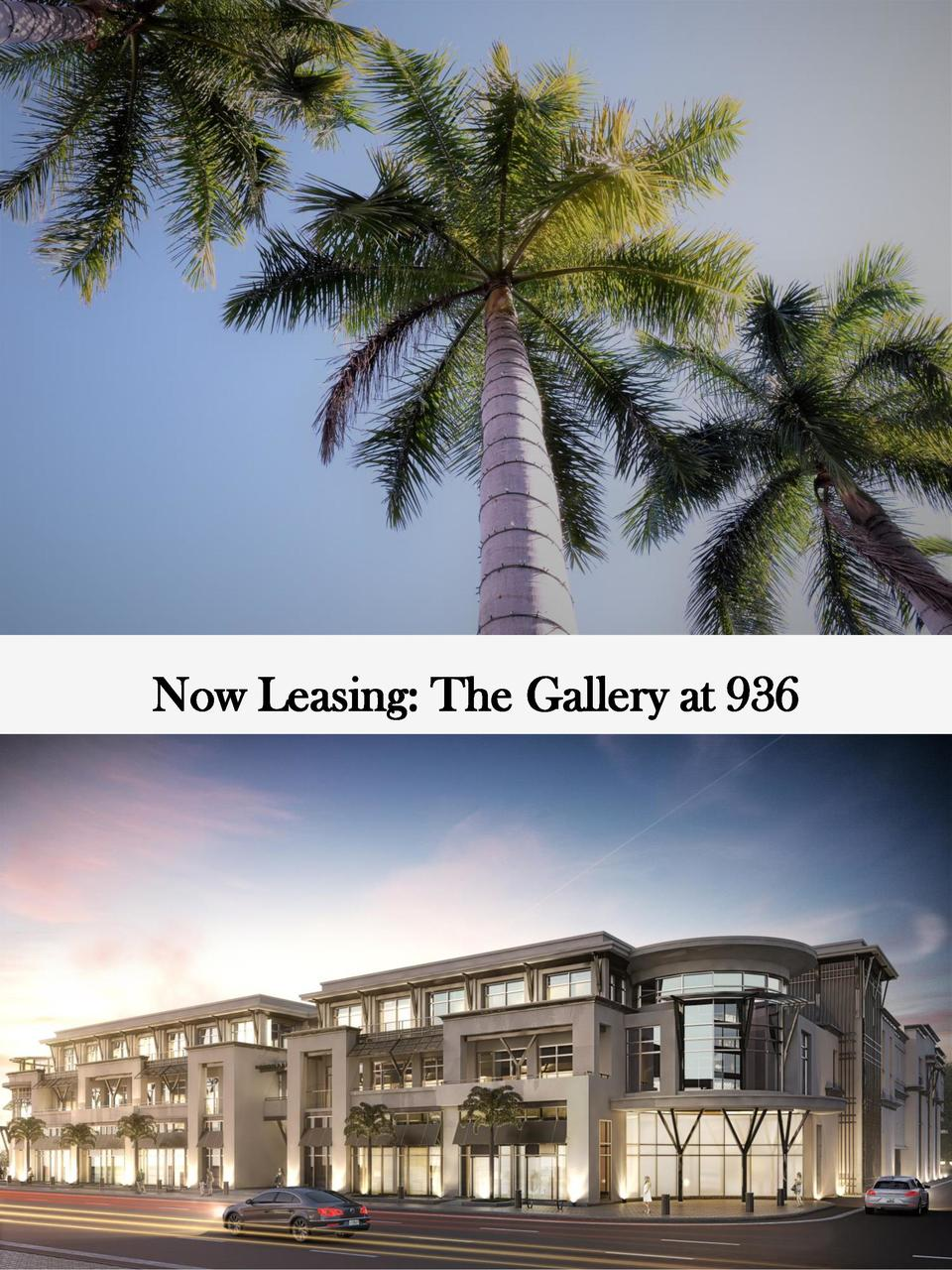 Now Leasing  The Gallery at 936