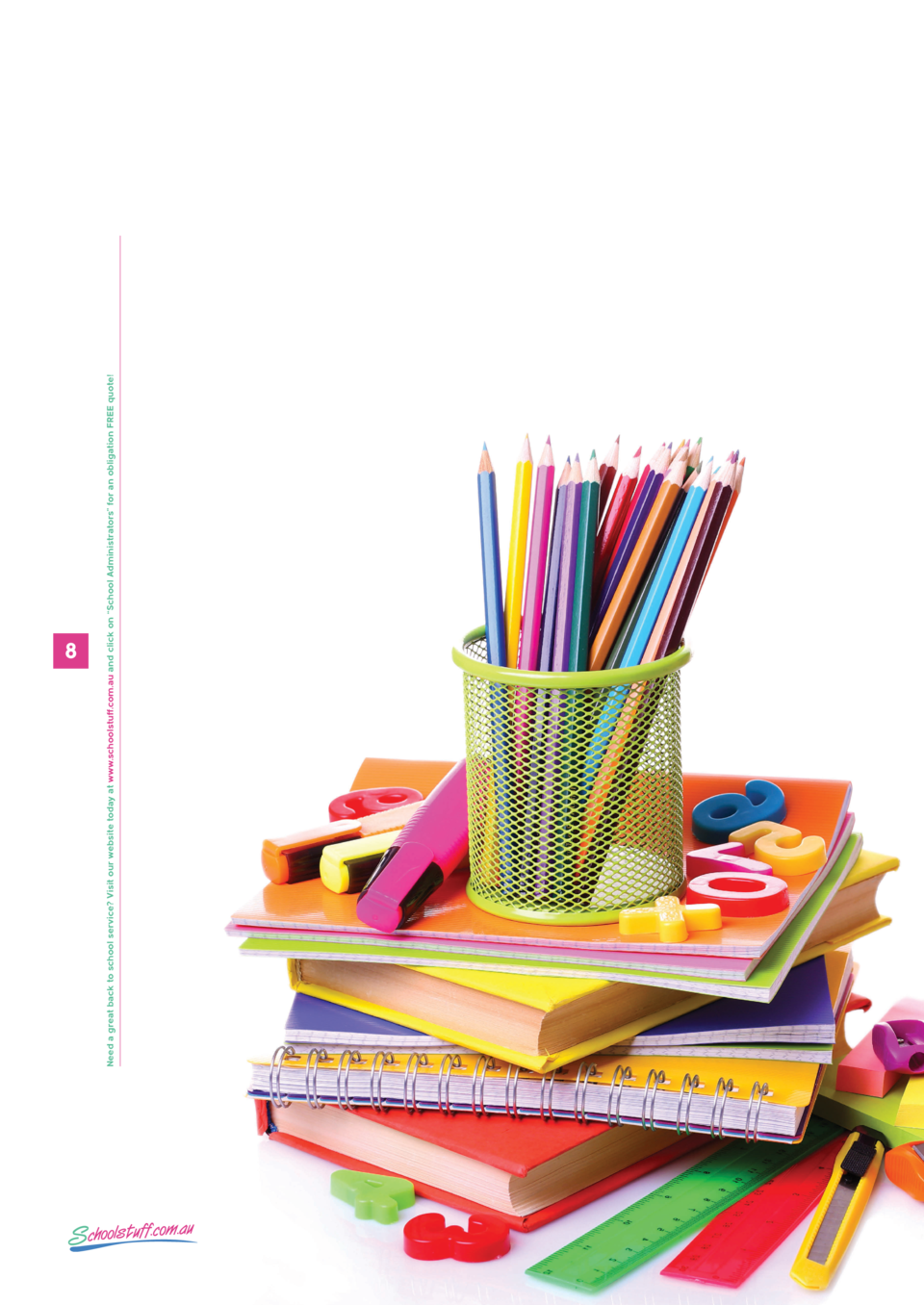 Need a great back to school service  Visit our website today at www.schoolstuff.com.au and click on    School Administrato...