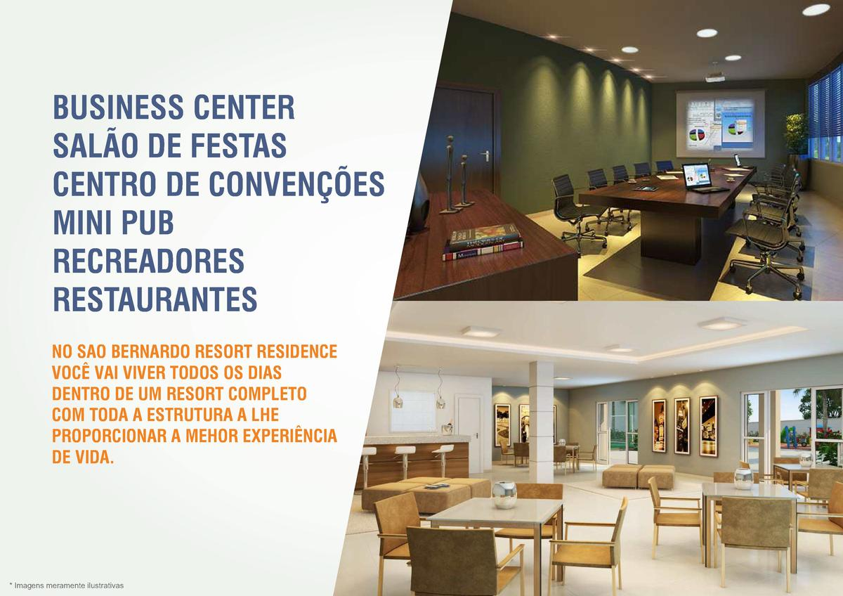 BUSINESS CENTER SAL  O DE FESTAS CENTRO DE CONVEN    ES MINI PUB RECREADORES RESTAURANTES NO SAO BERNARDO RESORT RESIDENCE...