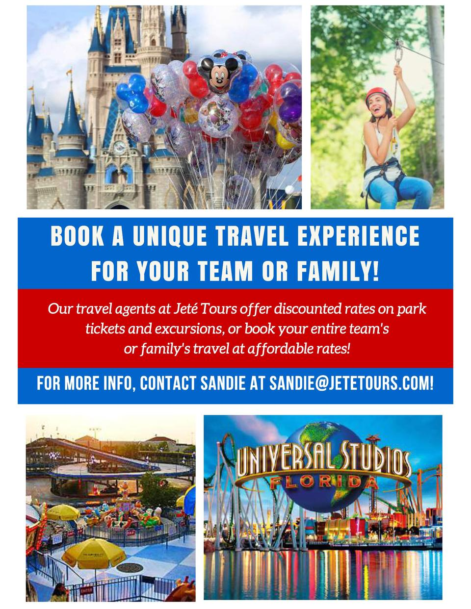 BOOK A UNIQUE TRAVEL EXPERIENCE FOR YOUR TEAM OR FAMILY