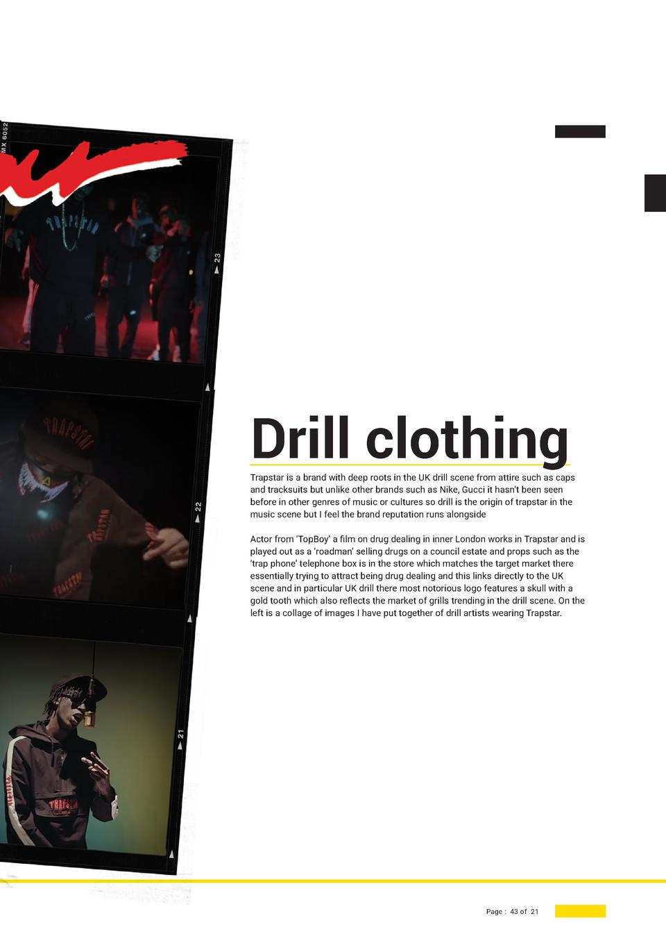 945294d17 Drill clothing Trapstar is a brand with deep roots in the UK drill scene  from attire