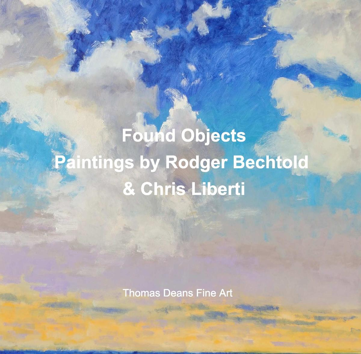 Found Objects Paintings by Rodger Bechtold    Chris Liberti  Thomas Deans Fine Art