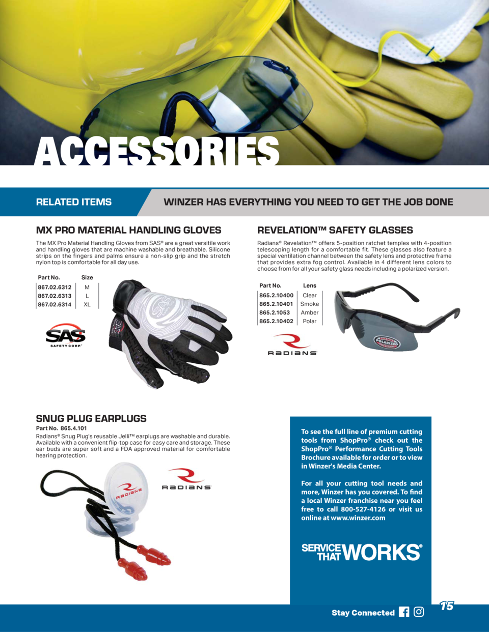 ACCESSORIES RELATED ITEMS  WINZER HAS EVERYTHING YOU NEED TO GET THE JOB DONE  MX PRO MATERIAL HANDLING GLOVES  REVELATION...