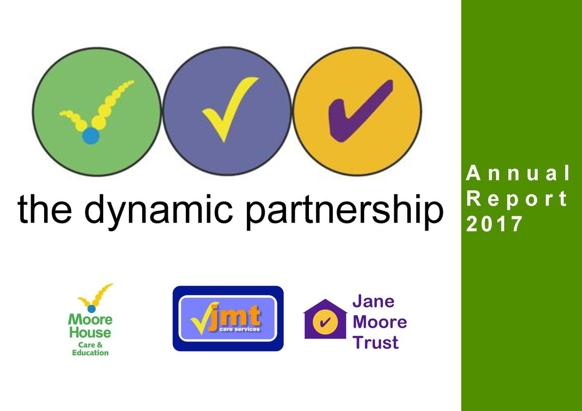 the dynamic partnership Jane Moore Trust  Annual Report 2017
