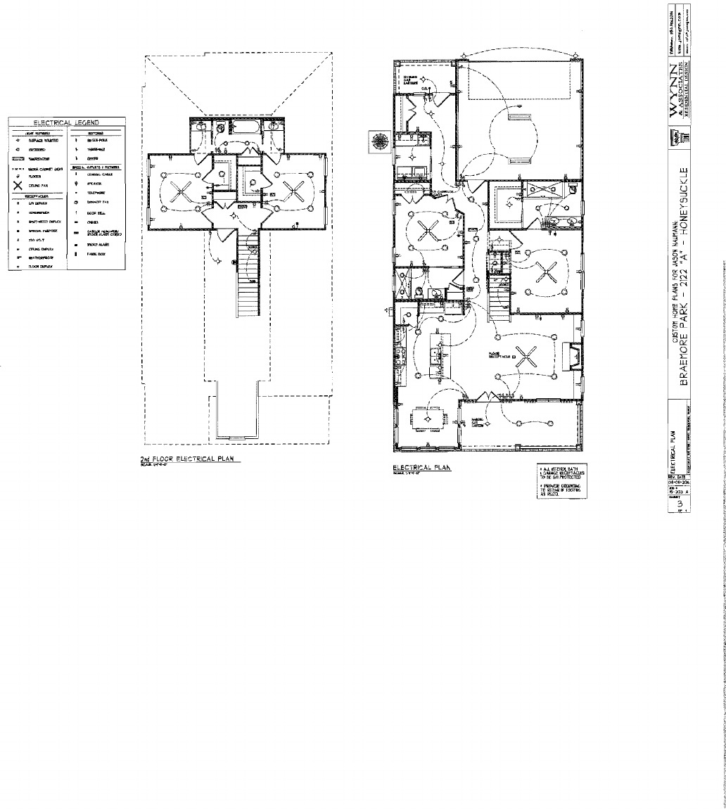 The Naumann Group Condo Docs Legend Of Electrical Plan Developed Is Being Provided