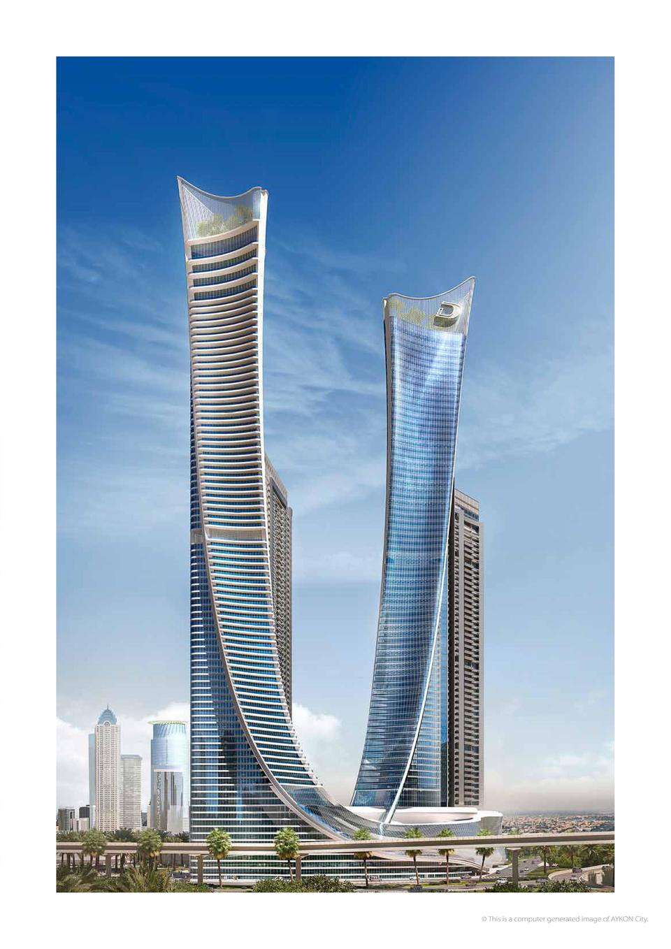 The landmarks of Dubai have a new companion A FREEHOLD PROJECT ON SHEIKH ZAYED ROAD OVERLOOKING DUBAI CANAL     This is a ...