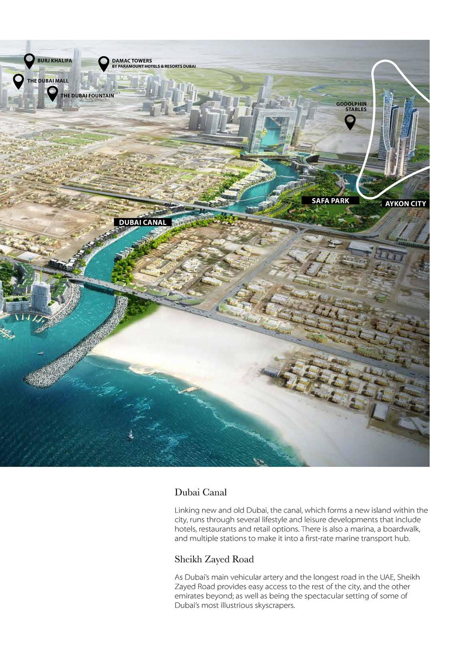 BURJ KHALIFA  DAMAC TOWERS  BY PARAMOUNT HOTELS   RESORTS DUBAI  DIFC THE DUBAI MALL THE DUBAI FOUNTAIN GODOLPHIN STABLES ...