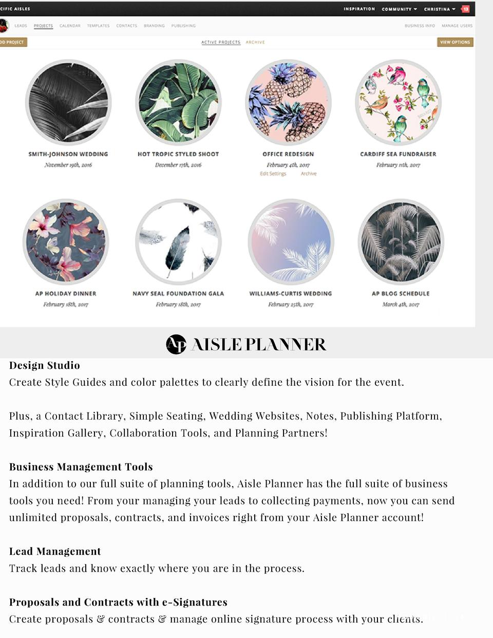 THE BRIDAL SOCIETY PARTNERS WITH   Design Studio Create Style Guides and color palettes to clearly define the vision for t...