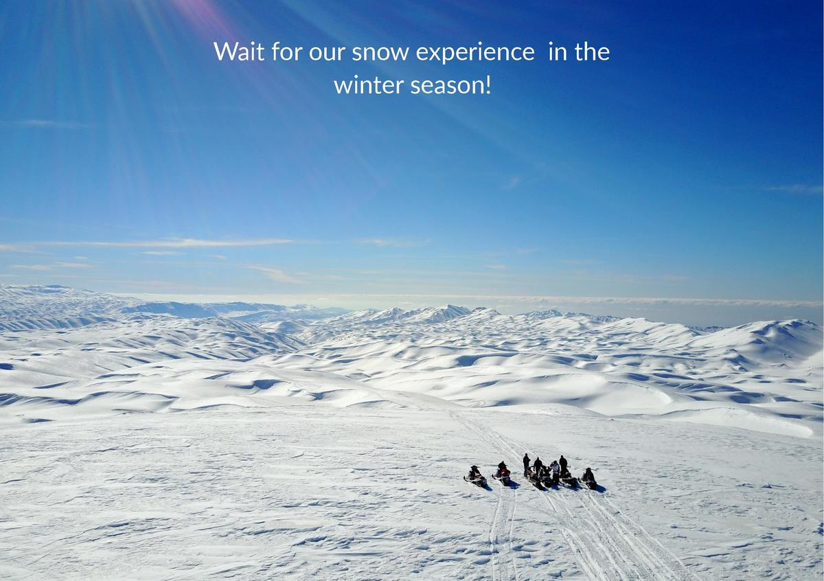 Wait for our snow experience in the winter season