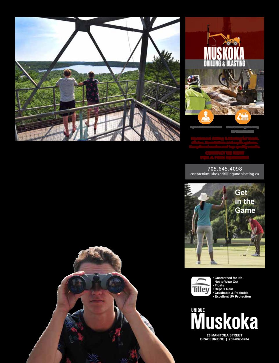 Unique Muskoka Magazine | Embracing the Muskoka lifestyle