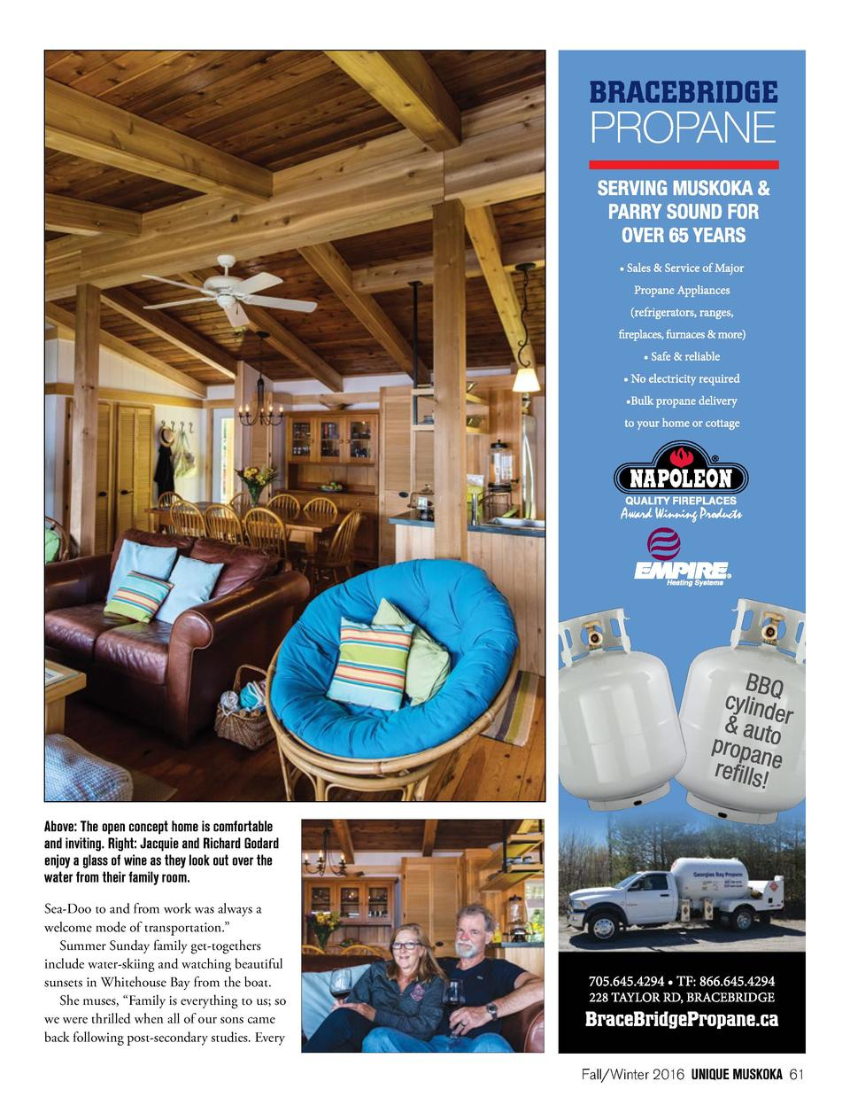 fall winter 2017 simplebooklet comabove the open concept home is comfortable and inviting right jacquie and richard godard enjoy
