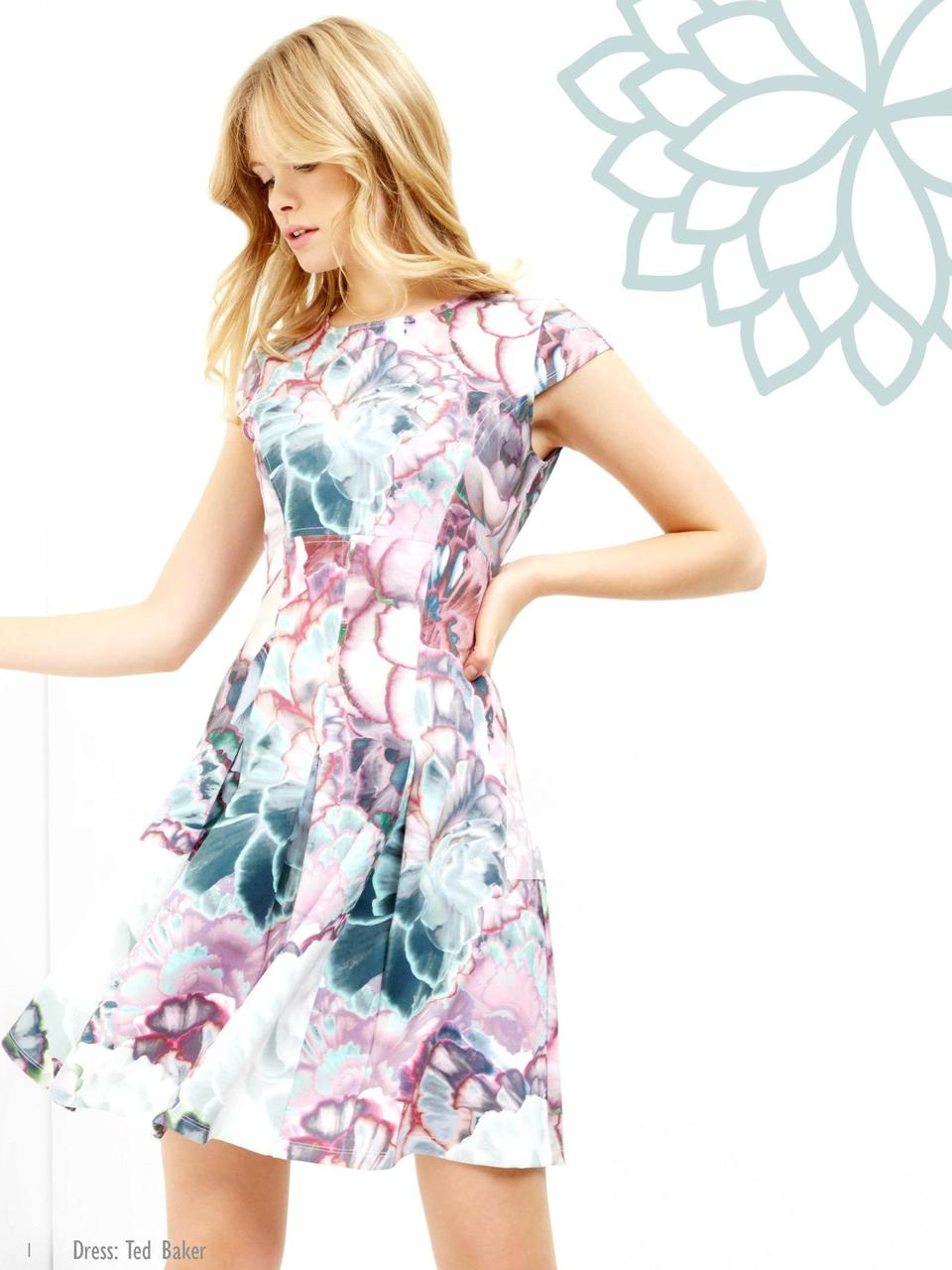 1  Dress  Ted Baker