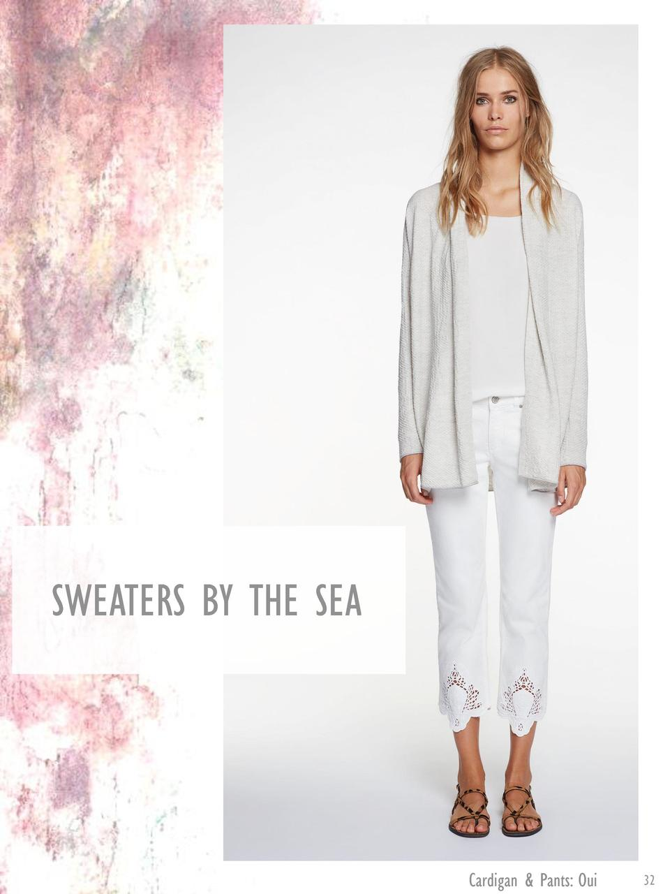 SWEATERS BY THE SEA  Cardigan   Pants  Oui  32