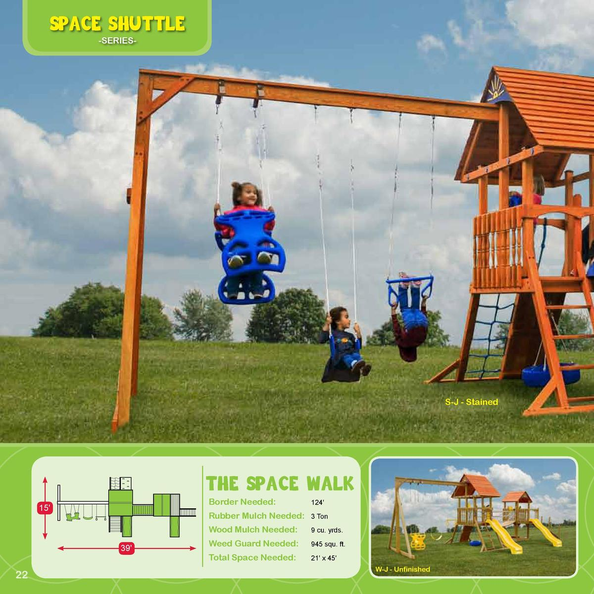 Space Shuttle  Play Deck Roofing Choices  -SERIES-  Fabric  Plastic  Clap Board  Did You Know  Kids do better on tests whe...