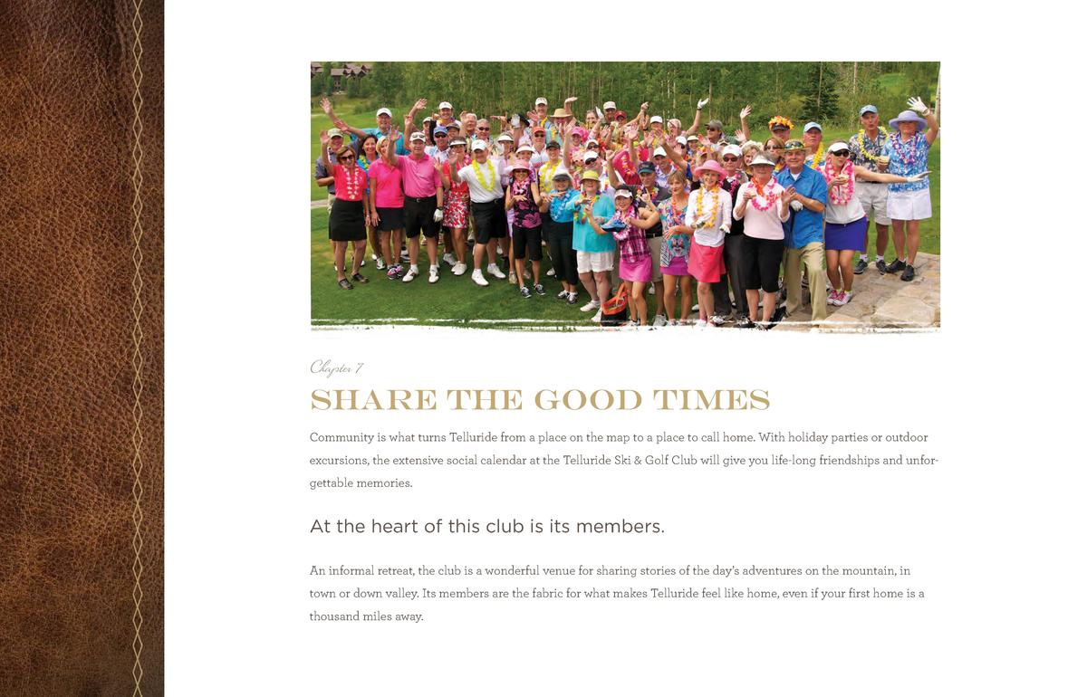 TSGC_Br_Pages_final.qxp_TSGCbr2014_new size 6 11 14 11 46 AM Page 21  Chapter 7  share the good times Community is what tu...