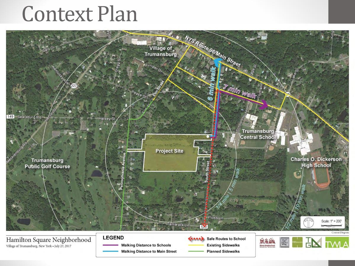 Context Plan  Hamilton Square Neighborhood www.southstreetproject.org