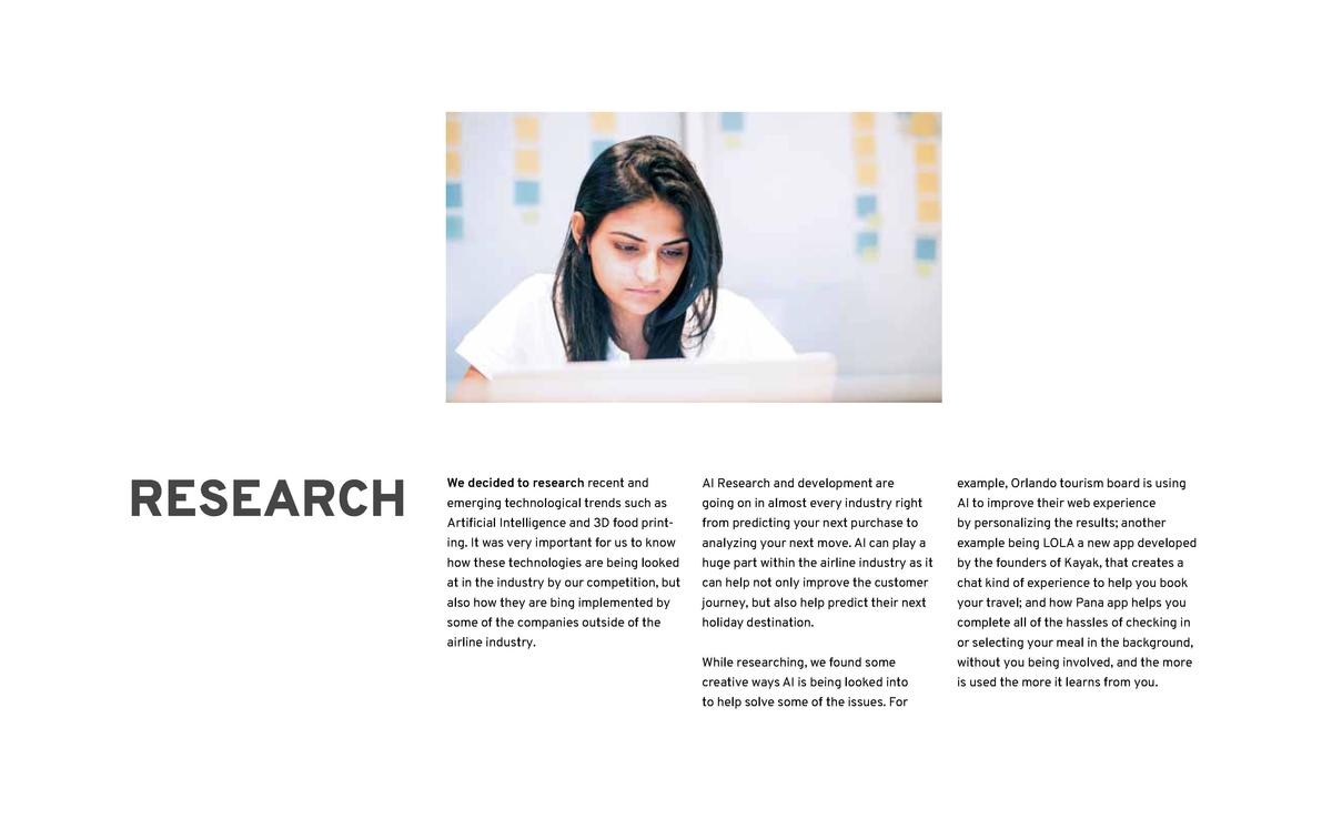 35  RESEARCH  PROCESS  We dived deeper into some of the things  By looking into these trends, we got a  that can help shap...