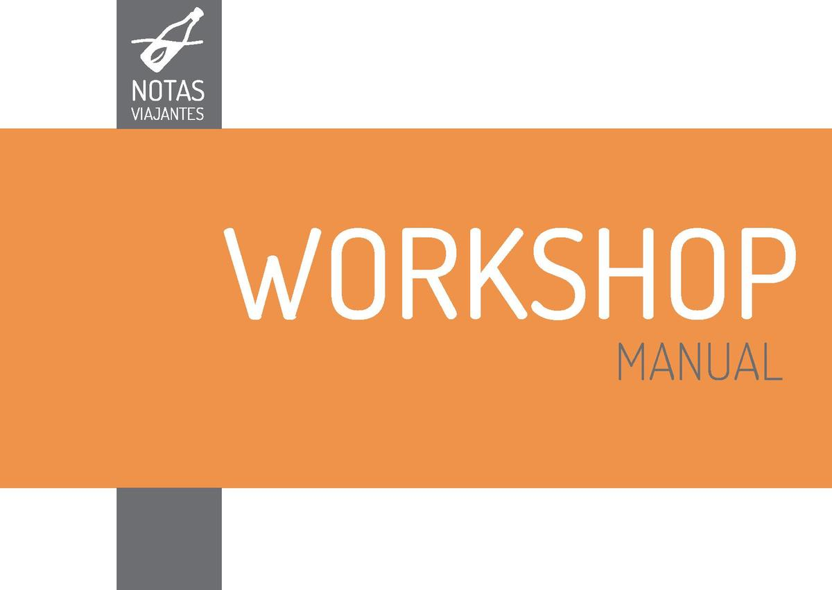 NOTAS  WORKSHOP MANUAL