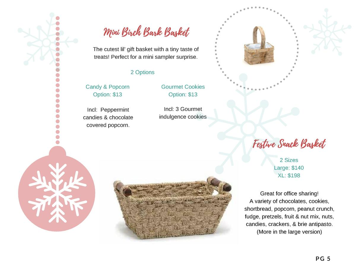 Mini Birch Bark Basket  The cutest lil  gift basket with a tiny taste of treats  Perfect for a mini sampler surprise. 2 Op...