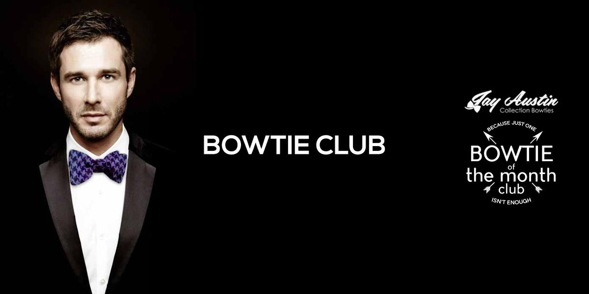 BOWTIE CLUB  BOWTIE of  the month club