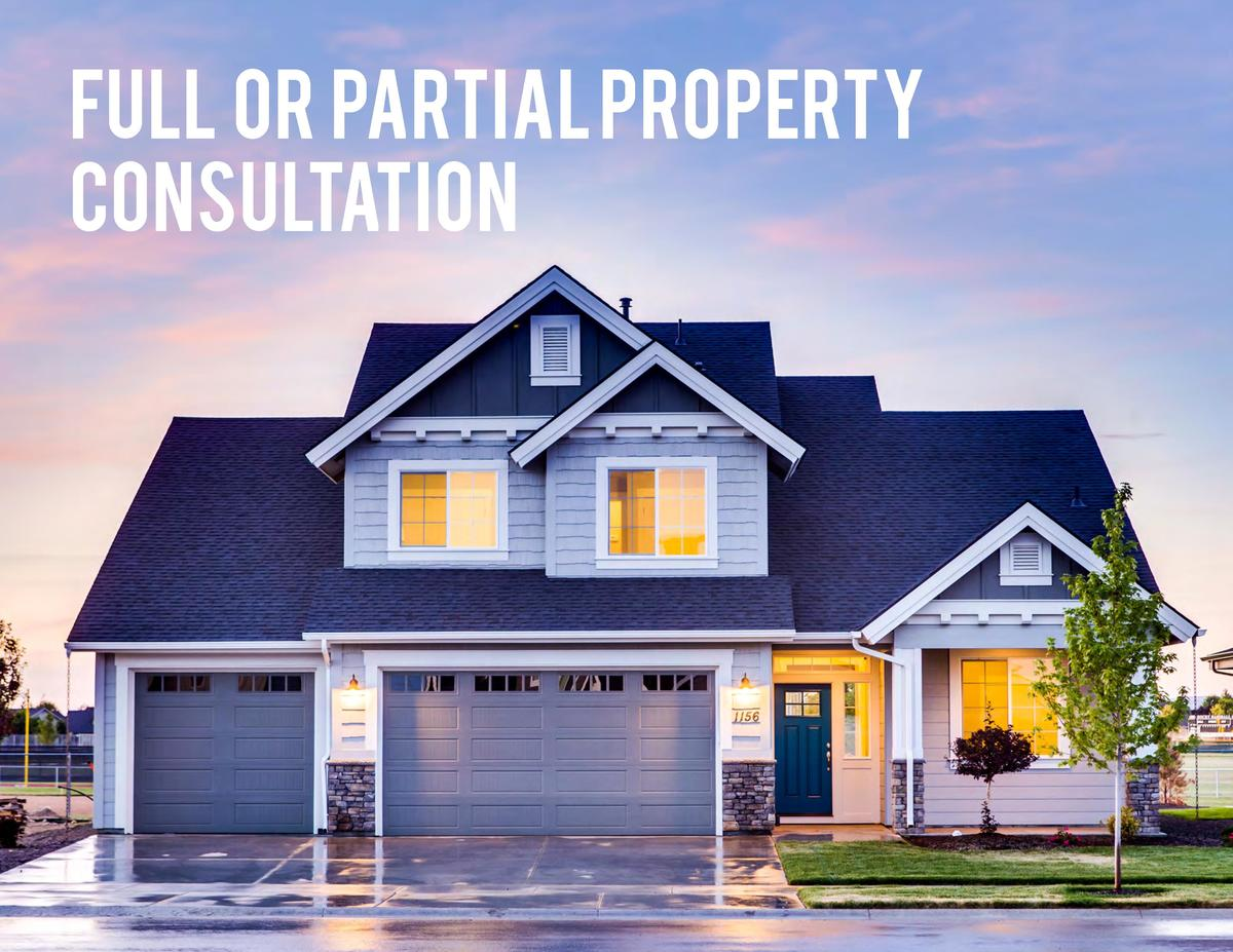 Full or Partial Property Consultation