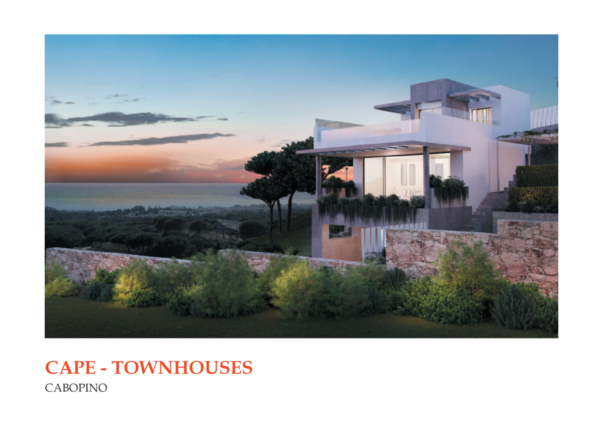 CAPE - TOWNHOUSES CABOPINO