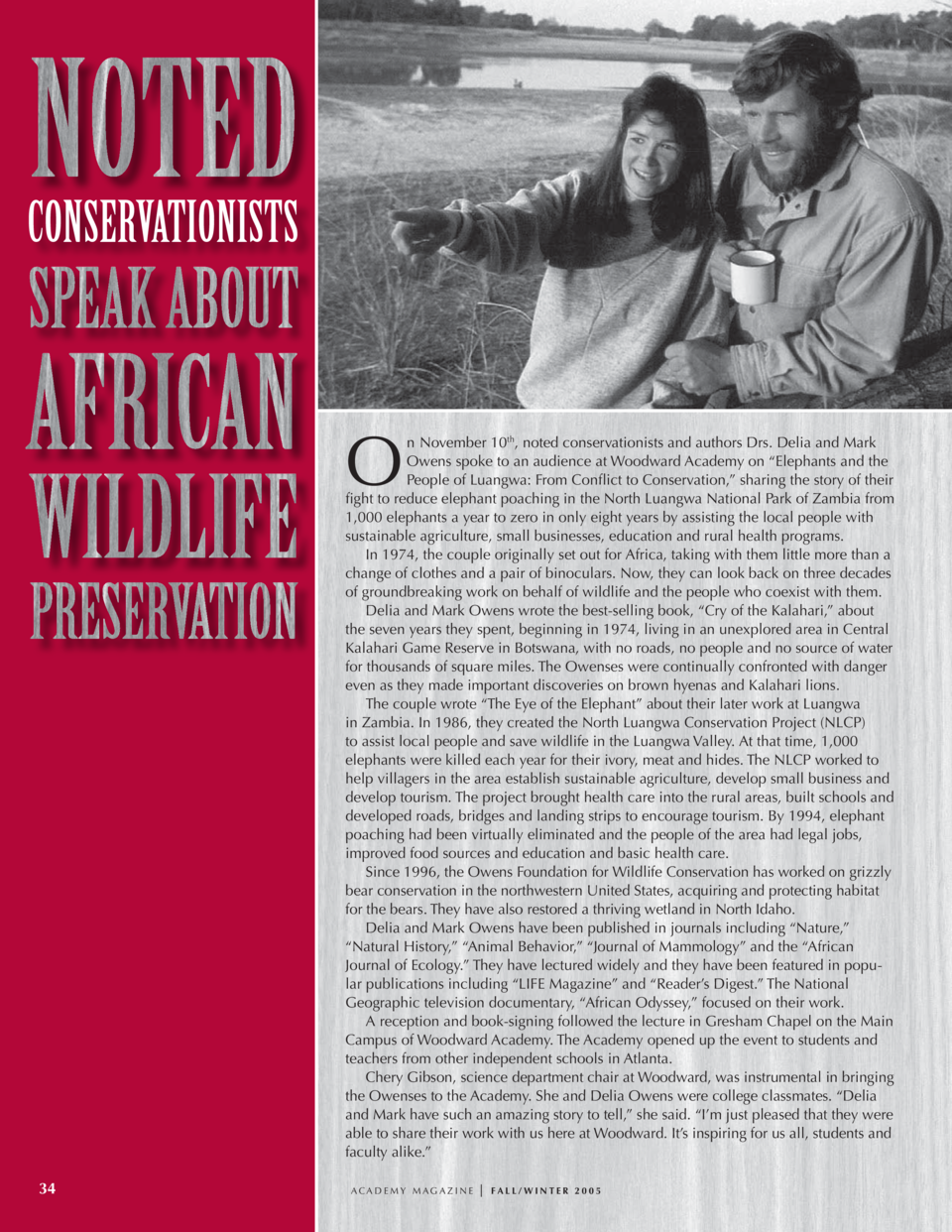 conservationist delia owens speaks - HD 960×1242