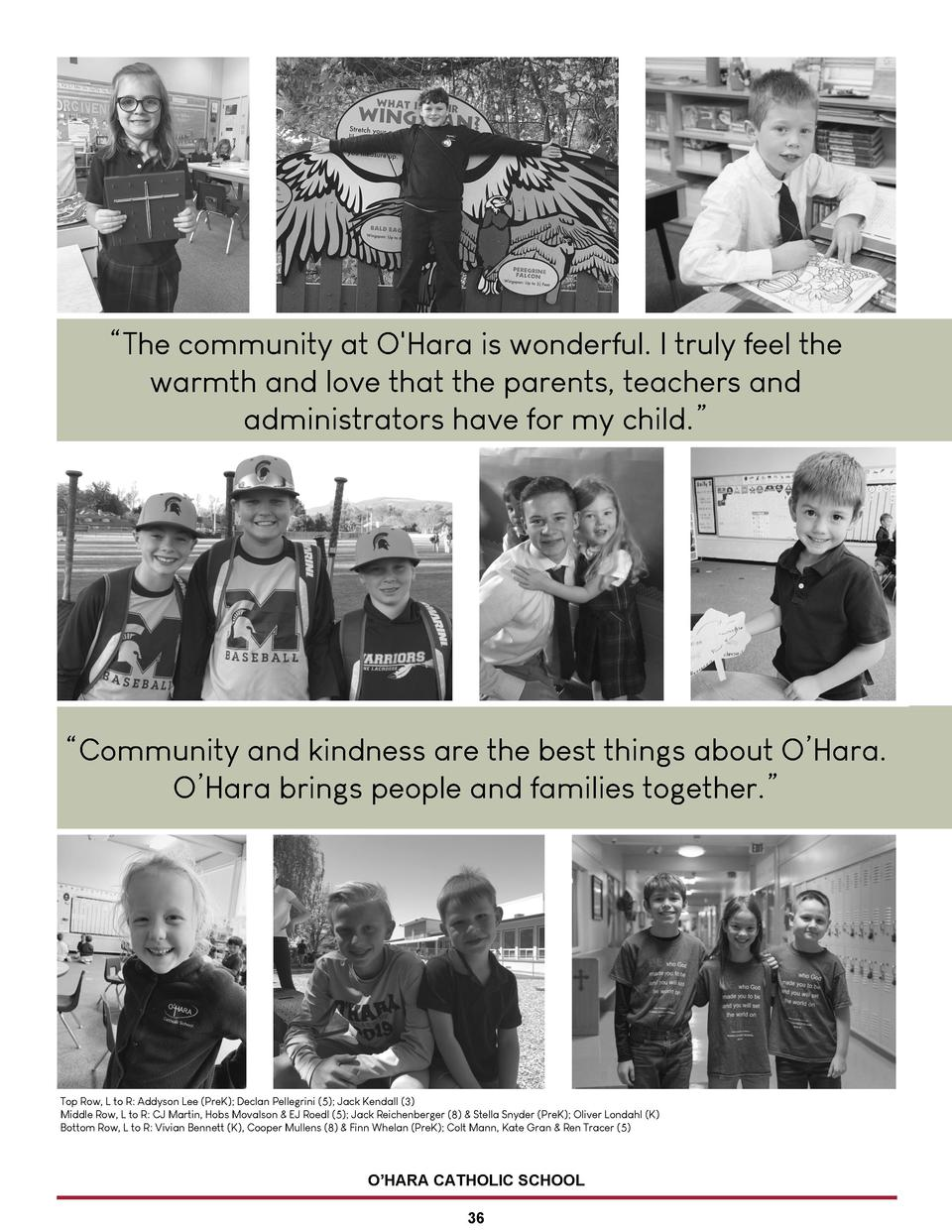 The community at O Hara is wonderful. I truly feel the warmth and love that the parents, teachers and administrators ha...