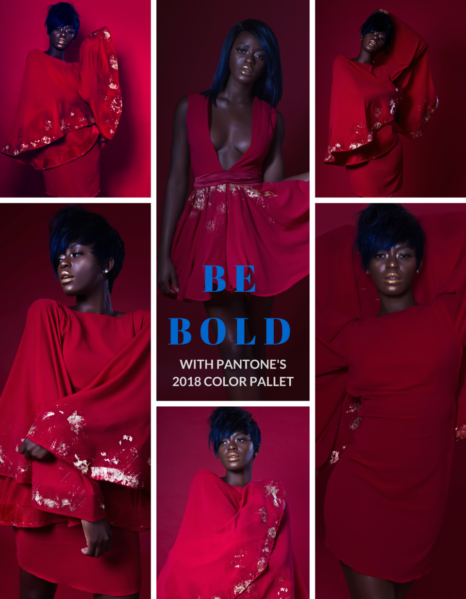 BE BOLD WITH PANTONE S 2018 COLOR PALLET