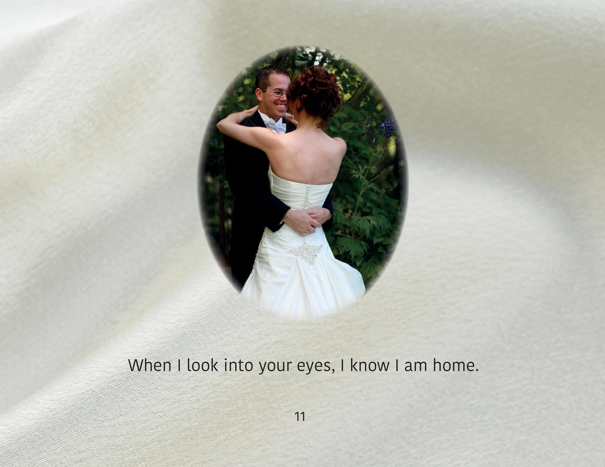 When I look into your eyes, I know I am home. 11